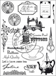 Ec0131 clear stamp Tea time