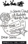 Ec0142 Clearstamp Eline's X-mas mail