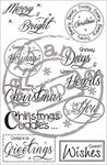 Sf1118 Clearstamp Stampfairy - Christmas