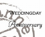 Cs0886 Stempel Weddingday/Anniversary (U