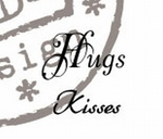 Cs0888 Stempel Hugs/Kisses (UK)