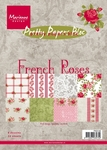 Pk9106 Paper bloc French Roses