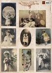 Vk9537 Tiny's Vintage Christmas Cards 1