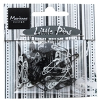 Ju0944 Mini pins - Black & White