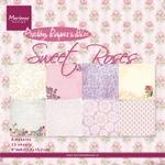 Pk9123 Paperbloc Sweet Roses