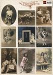 Vk9541 Vintage Flower Children 2