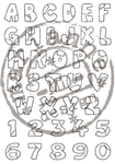 Cs0921 Patchwork alphabet