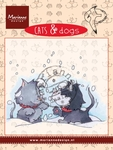 Cd3502 Cats & dogs - snow fight