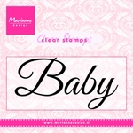 Cs0958 Clear stamp Baby