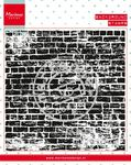 Cs0956 Clear stamp Background: bricks wa