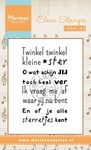 Cs0964 Clear stamp Liedje: Twinkel twink