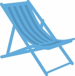 Lr0423 Creatable Deck chair