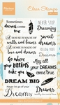 Cs0975 Clear stamp Dreams