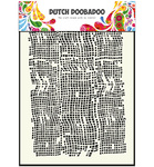 470715006 Dutch art stencil burlap