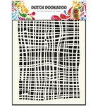 470715007 Dutch art stencil fabric