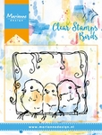 Mm1609 Clear stamp 3 Birds