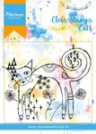 Mm1612 Clear stamp Skinny cat