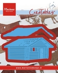Lr0441 Creatable - Tiny's Log cabin
