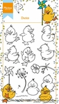 Ht1615 Clear stamp Hetty's ducks