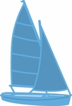 Lr0473 Creatable - Sailboat