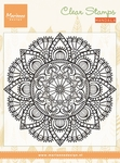 Cs0988 Clear stamp Mandala