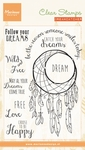 Cs0989 Clear stamp Dreamcatcher sentimen
