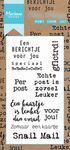 Cs0993 Clear stamp Post voor jou