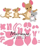 Col1437 Eline's mice family