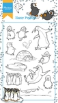 Ht1628 Clear stamp Hetty's Happy Pinguin