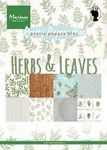 Pk9152 Paperbloc - Herbs & leaves - A5