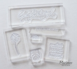 Lr0013 Acrylic stamp bloc set
