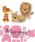 Col1455 Collectable - Eline's lion/tiger
