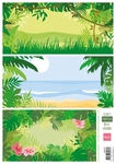 Ak0070 Eline's tropical backgrounds