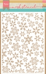 Ps8011 Craft stencil Ice crystal