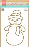 Ps8018 Snowman by Marleen