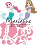 Col1467 Collectable Mermaids by Marleen