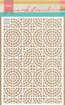 Ps8035 Craft stencil Mosaic tiles