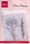 Cs0829 Clear stamp Amaryllis