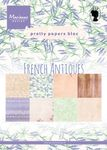 Pk9167 Paperbloc - French Antiques - A5