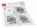 Cs1055 Clear stamp - Playing cards