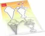 Ht1657 Clear stamp - Summer - Ice cream