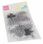 Mm1633 Clear stamp Art - Chrysant