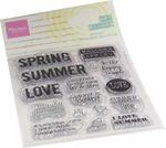 Mm1639 Art stamps - Summer time