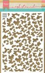 Ps8090 Craft stencil - Camouflage - A5